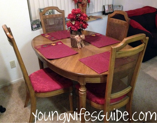 MY New Dining Room-Recover Old Chairs