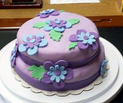 beginner fondant cakes