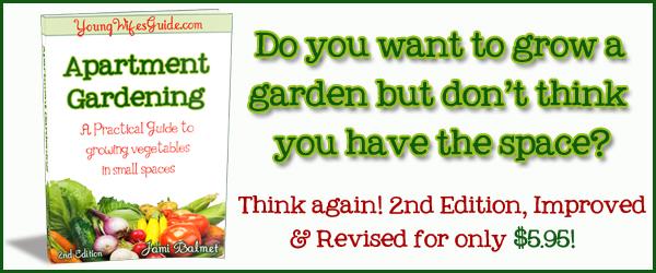 Apartment Gardening Banner