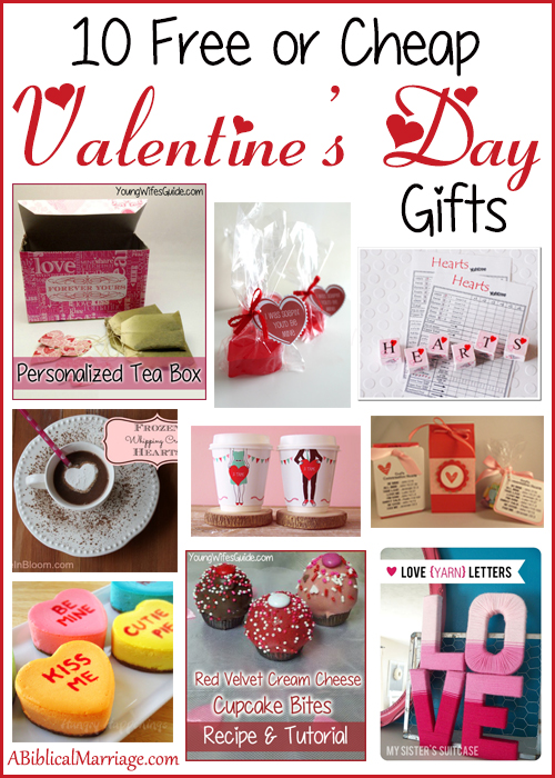 10 Free Or Cheap Valentine S Day Gifts Young Wife S Guide