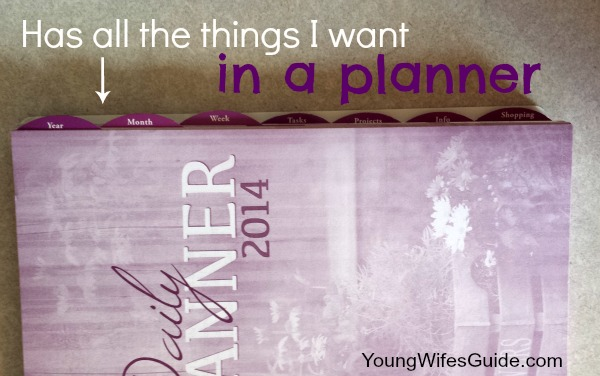Everything I want in a planner!