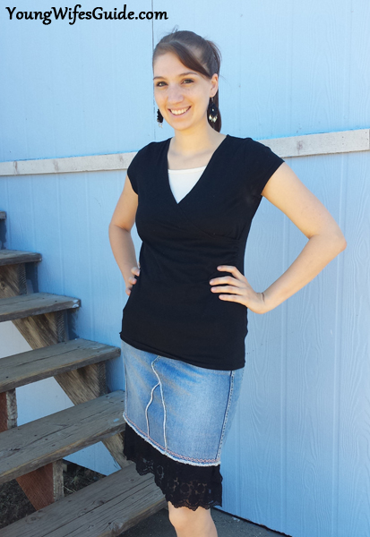 Dressing Modestly - The Dress and Skirt Extender 2