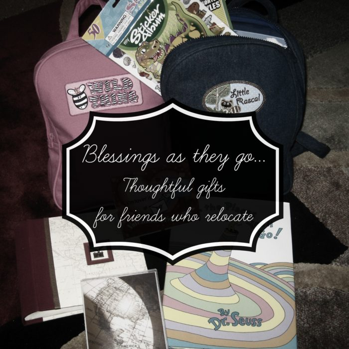 Gifts for Friends Who Relocate