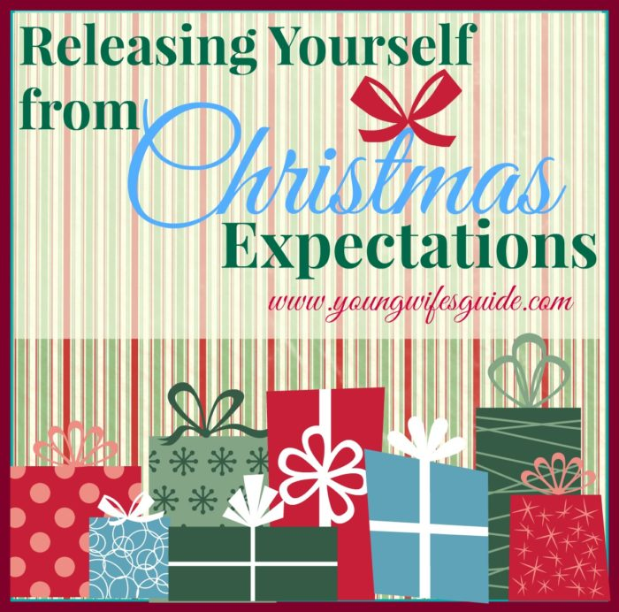 Releasing yourself from Christmas expectations