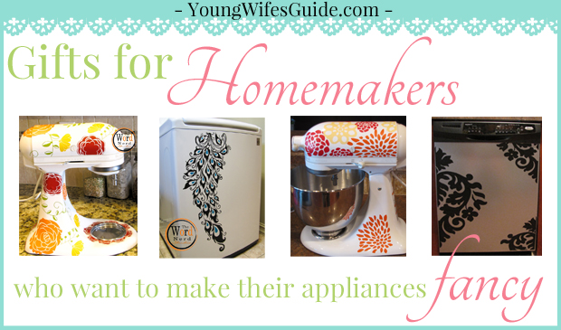 Gifts for Homemakers who want to make their appliances fancy