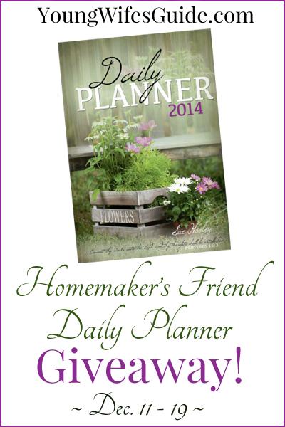 Homemaker's Friend Giveaway