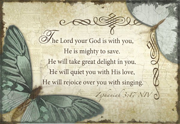 The Lord Your God Wall Art