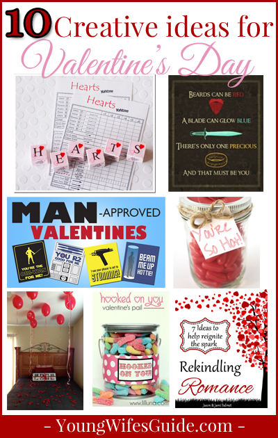 10 Creative Ways to Surprise Your Hubby for Valentine's Day