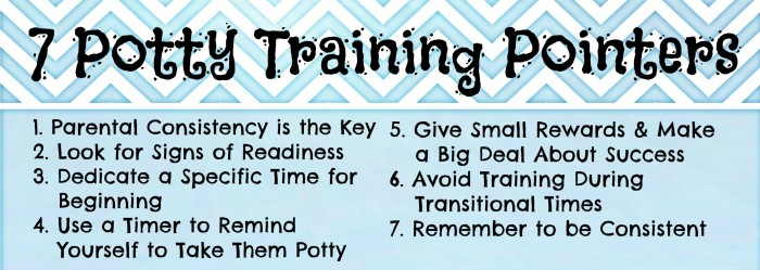 7 Potty Training Pointers