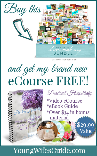 Buy the ultimate homemaking bundle and get for FREE