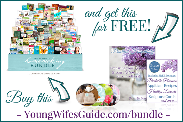 Buy the Ultimate Homemaking Bundle and get my new eCourse FREE!!