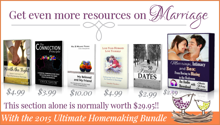 More Marriage Resources