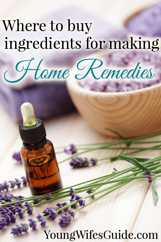 Where To Buy Natural Ingredients For Home Remedies