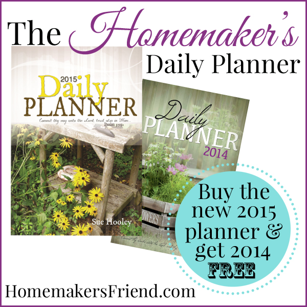 Homemaker's Friend Daily Planner