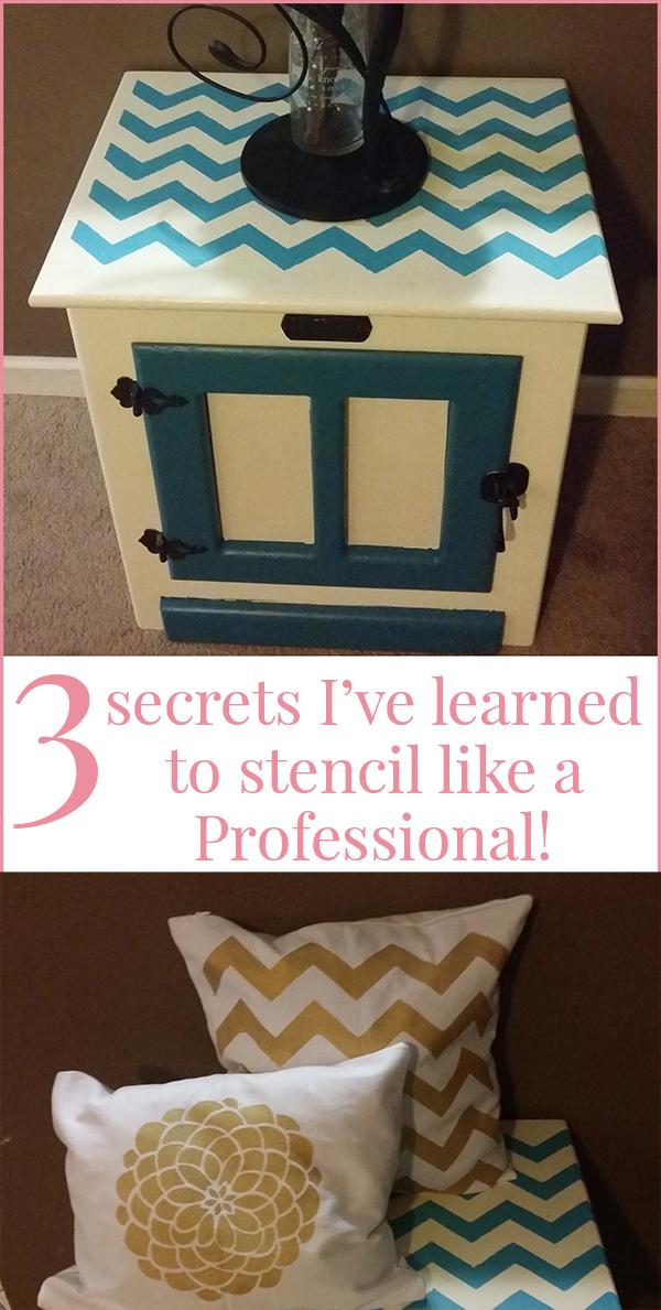 3 Secrets I've Learned to Stencil like a pro (Hint - It's not as hard as it looks)
