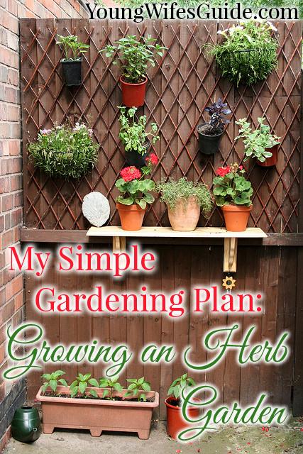 My Simple Gardening Plan