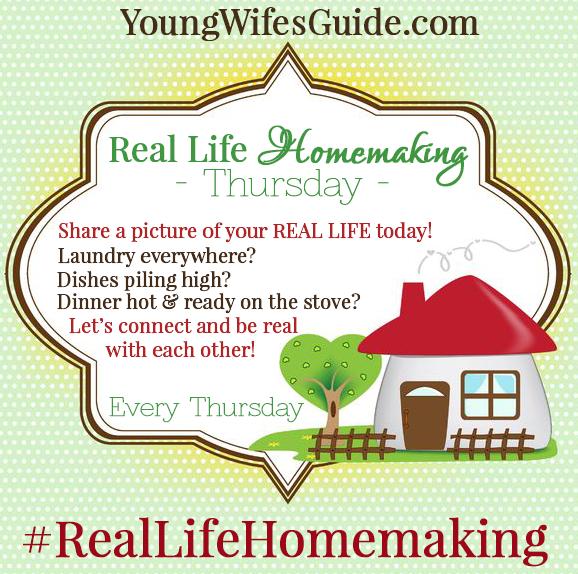Real Life Homemaking Instagram & Facebook