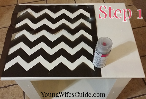 Step by Step Tutorial for Stenciling Like a Pro - Step 1 is the most crucial!