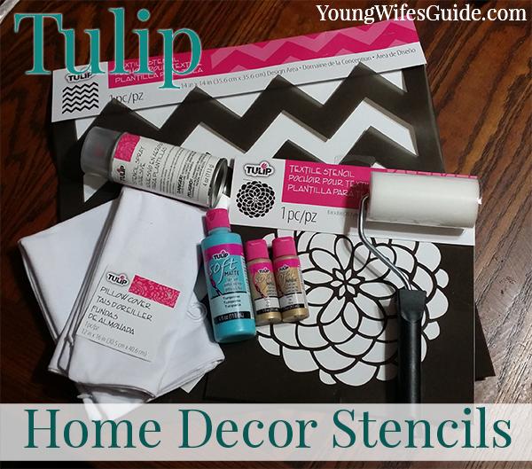 Tulip - Home Decor Stencils