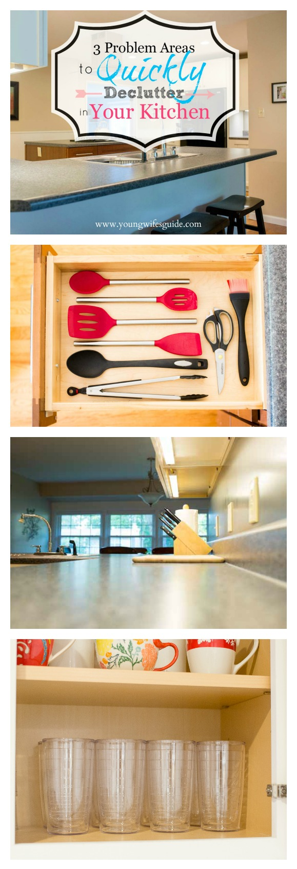 3 problem areas to quickly declutter in your kitchen 2