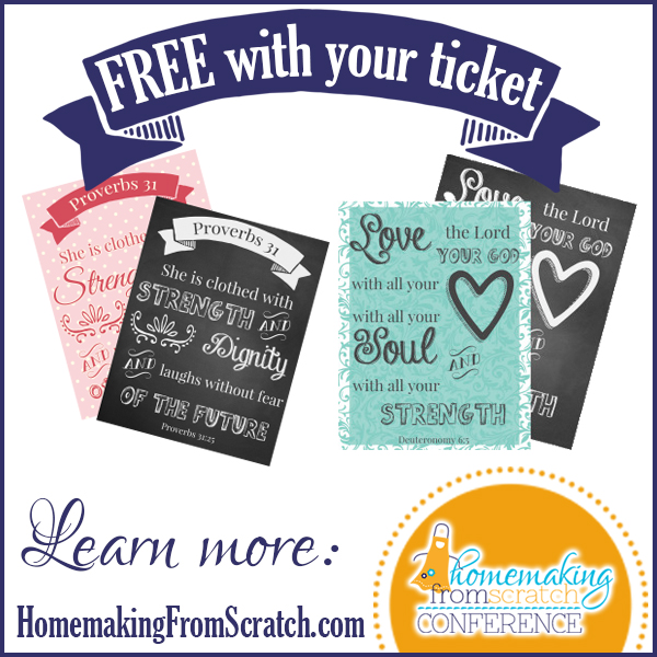 FREE printables with your ticket!