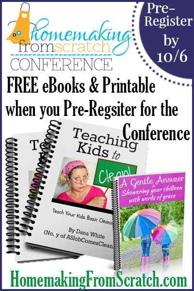 FREE teaching kids chores when you pre-register