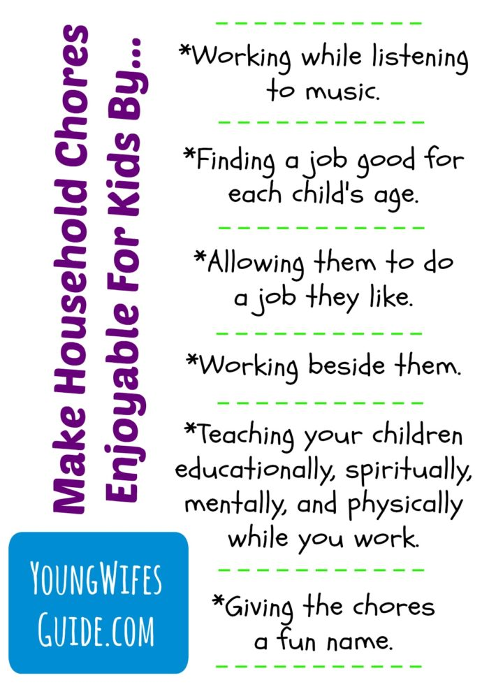 Household Chores with Children 2