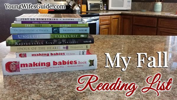 My Fall Reading List H