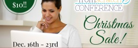 HFS Online Conference AD Christmas SALE