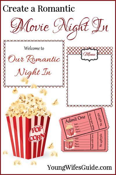 Create a Romantic Movie Night In