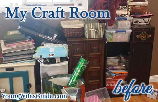 My craft room...before!