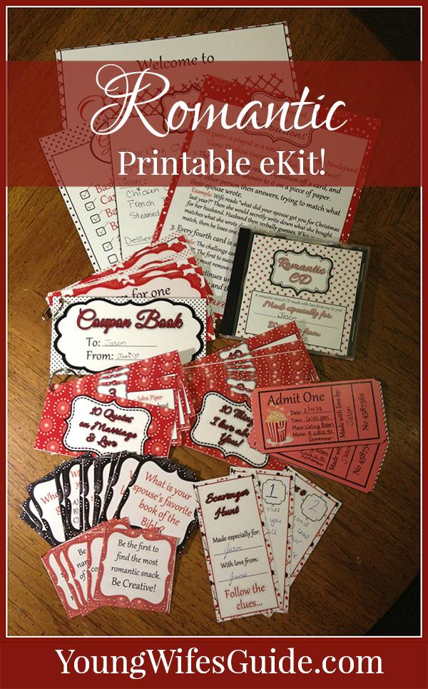Printable Romantic eKit! - Rekindle the Romance