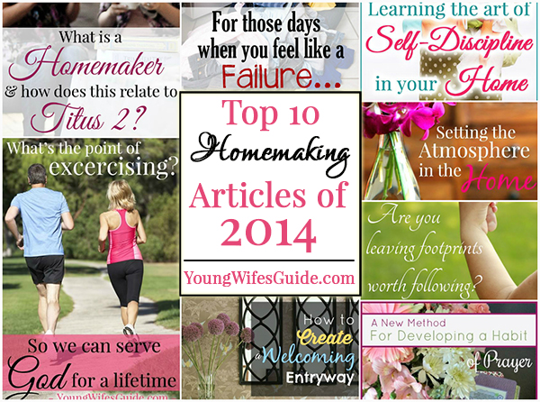 Top 10 Homemaking aticles