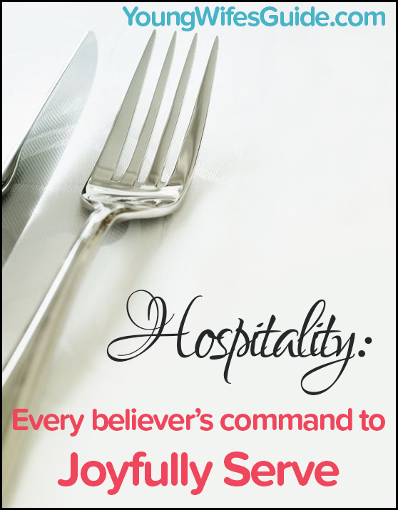 Hospitality - every believer's command to joyfully serve blog post