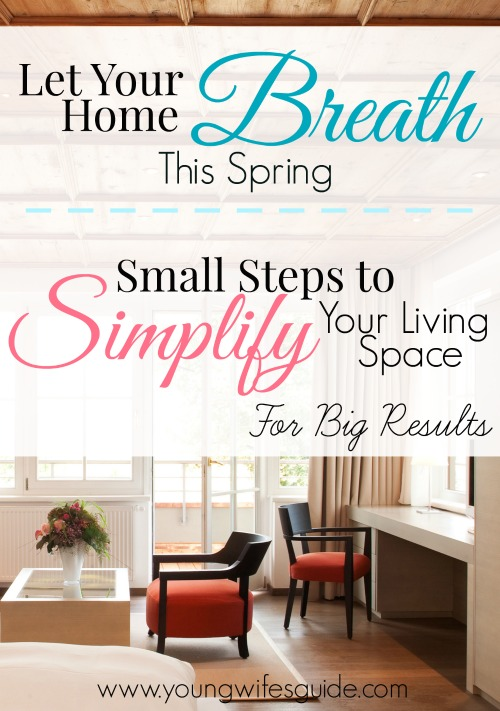 let your home breath this spring