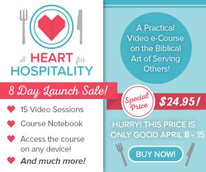 A Heart for Hospitality eCourse