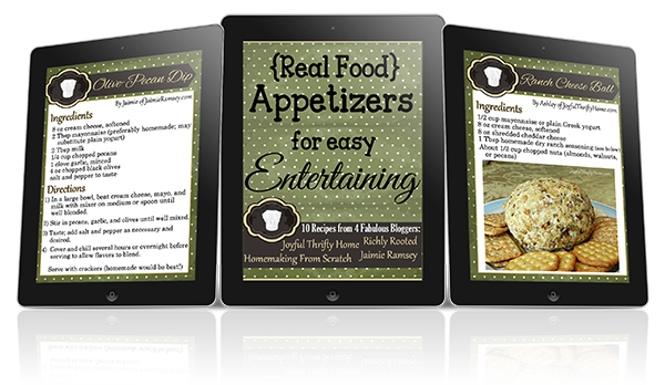 Appetizer Recipe Cardssmaller