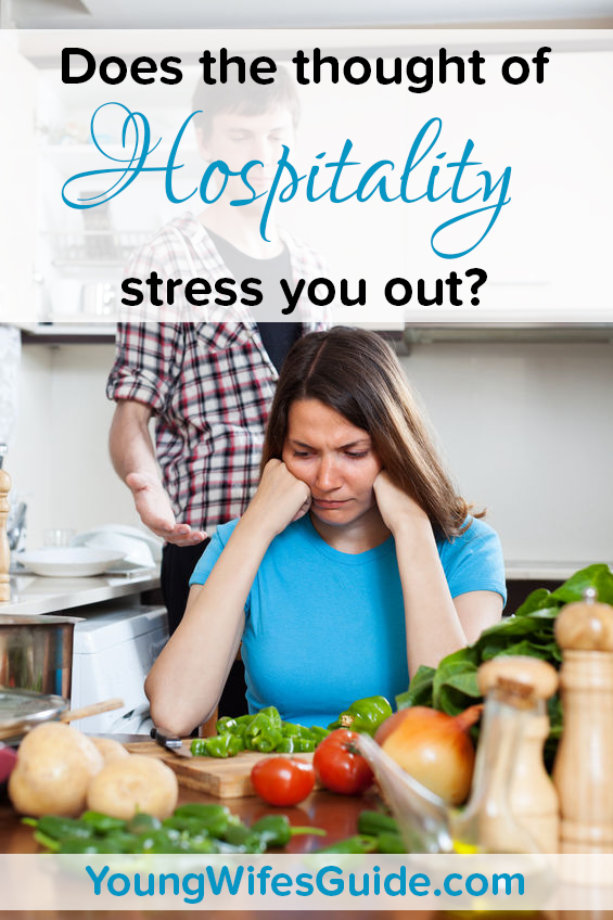 Does the thought of hosptiality stress you out