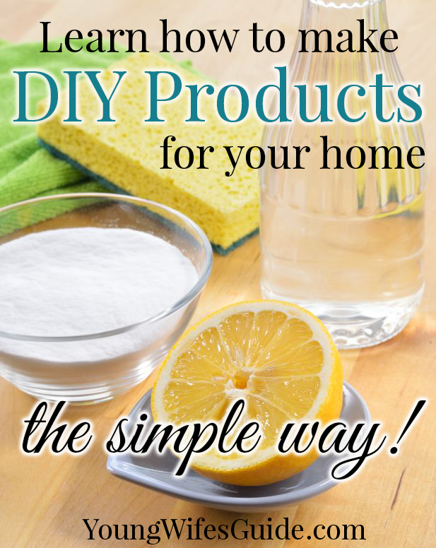 Learn how to make DIY products for your home - the simple way!