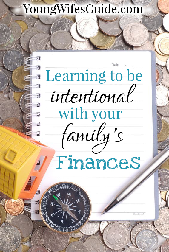 Learning to be intentional with your family's finances