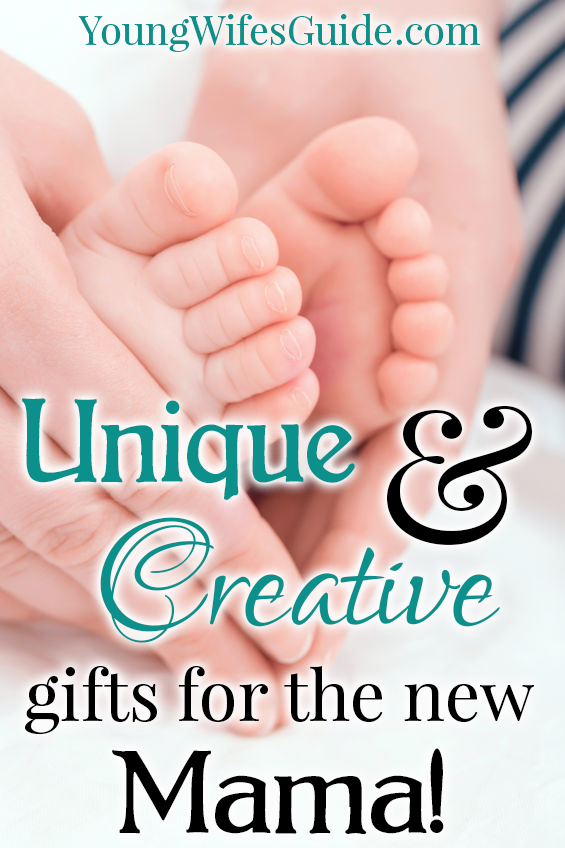 Unique and creative gifts for the new mama
