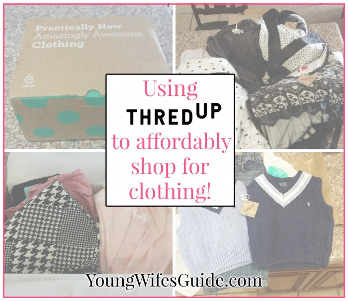 Using ThredUp to affordably shop for clothing...for the whole family!
