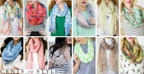 Cents of Style Scarves 60% OFF!