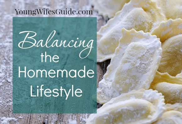 Start small - take baby steps - and you can create the homemade lifestyle that is right for YOUR family!