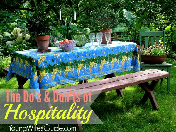 Do's and Don'ts of Hospitality