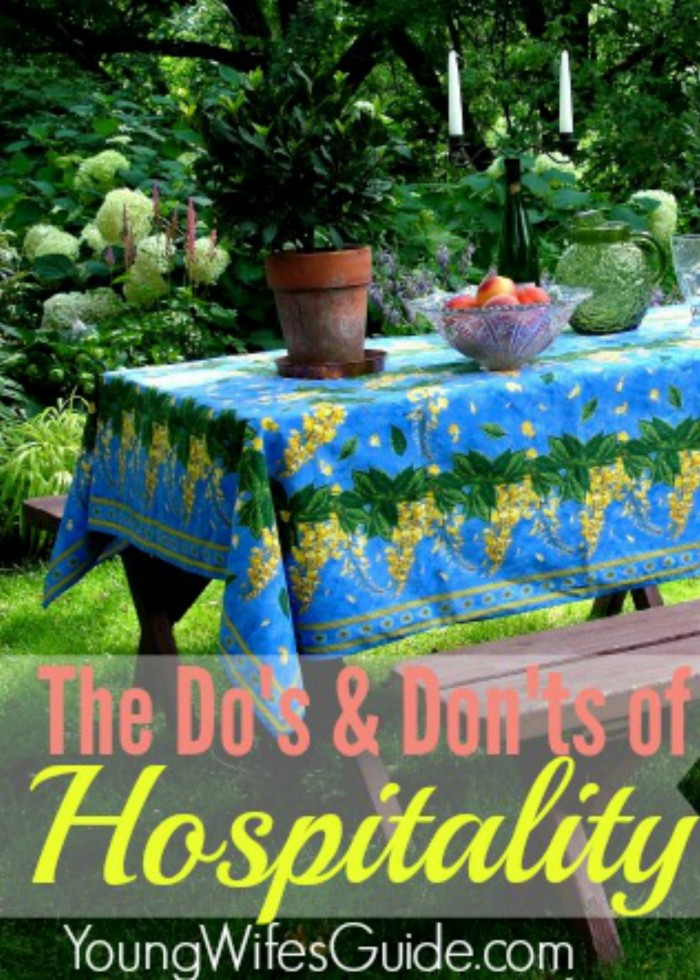 Dos and Donts of Hospitality