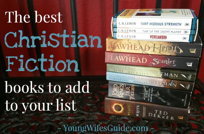 the best Christian Fiction books to add to your list