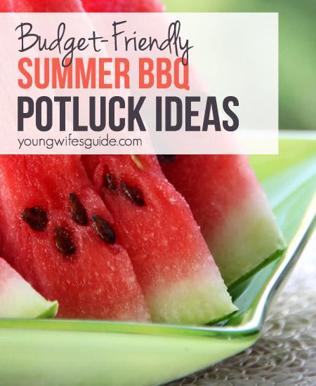 Summer Potluck Ideas