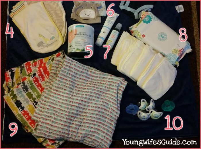The 10 things we packed for the hospital