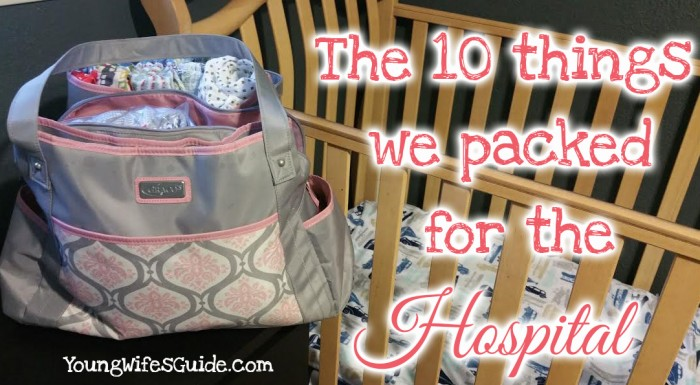 the 10 things we packed (and what we really used)